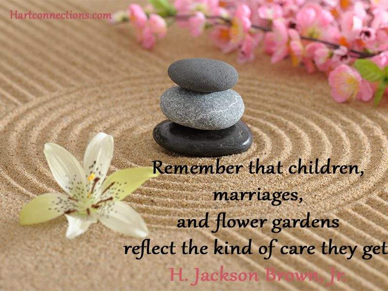 Marriage,-children,-flower-gardens